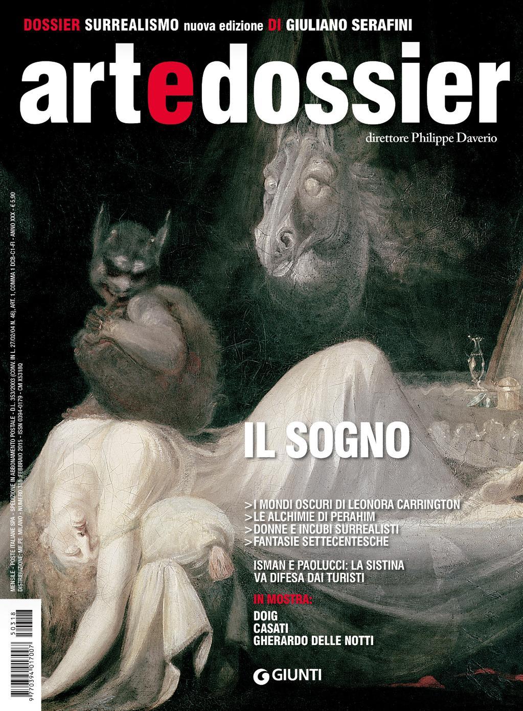 Art e dossier n. 318 (febbraio 2015)