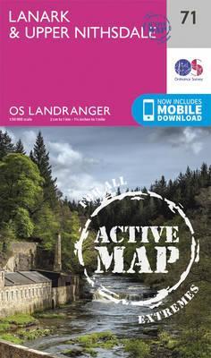 Landranger Active (71) Lanark & Upper Nithsdale