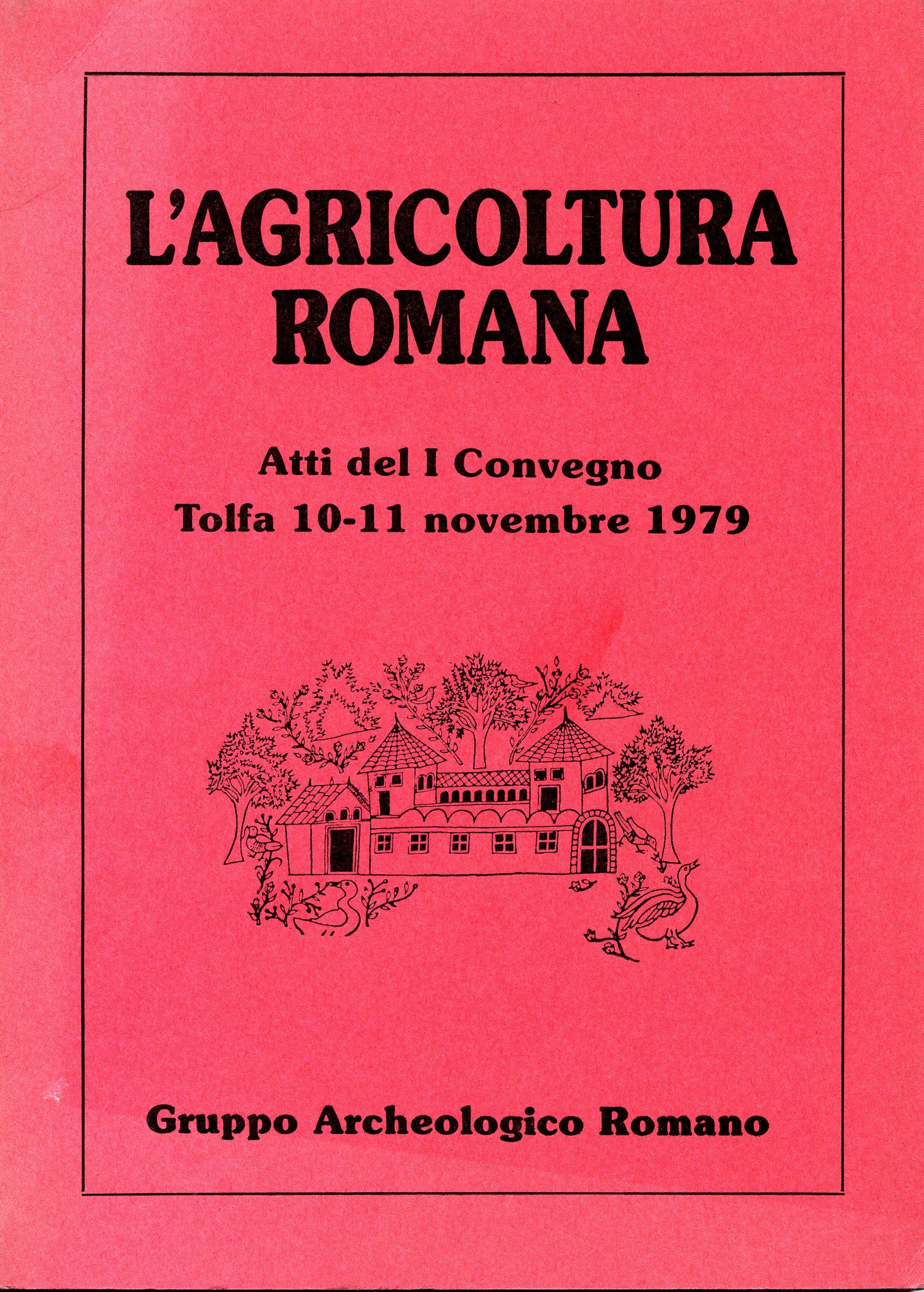 L'agricoltura romana