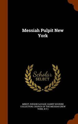 Messiah Pulpit New York