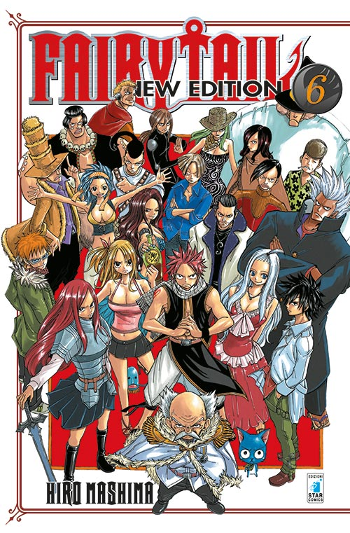 Fairy Tail New Edition vol. 6