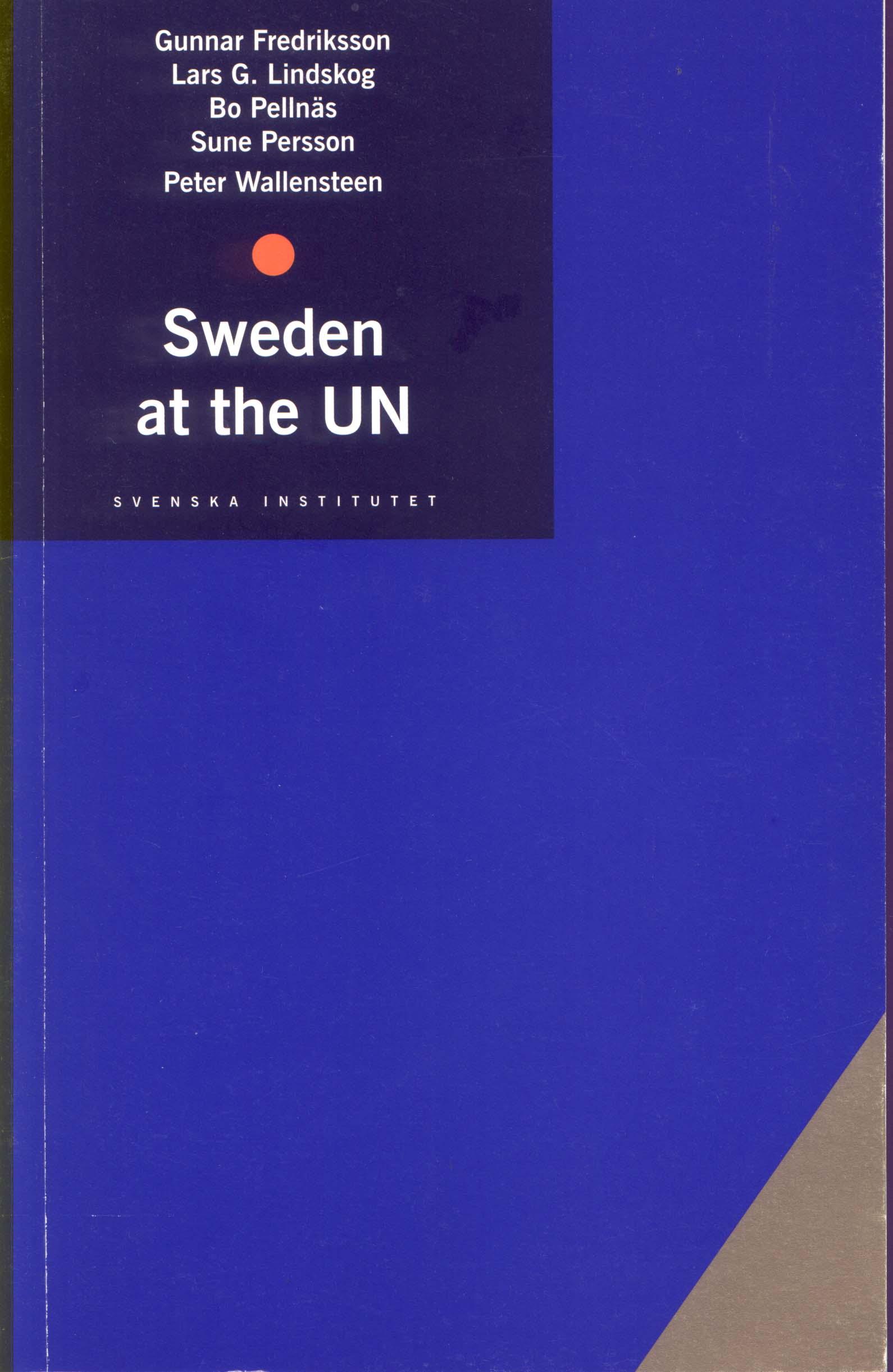 Sweden at the UN: ei...