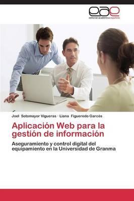 Aplicación Web para la gestión de información