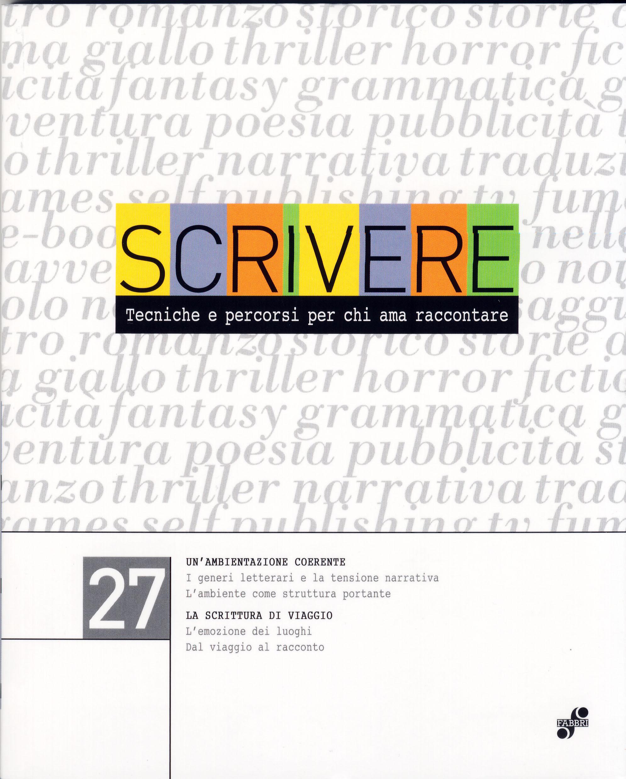 Scrivere - vol. 27