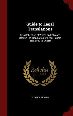 Guide to Legal Translations
