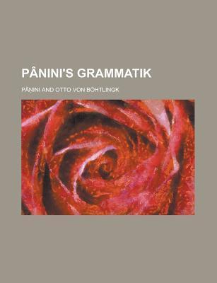 Panini's Grammatik