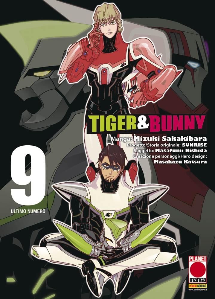 Tiger & Bunny vol. 9