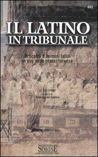 Il latino in tribunale