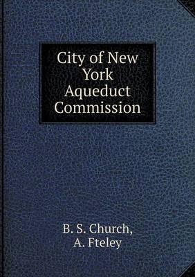 City of New York Aqueduct Commission