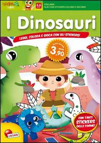 Il mondo dei dinosauri. Con adesivi