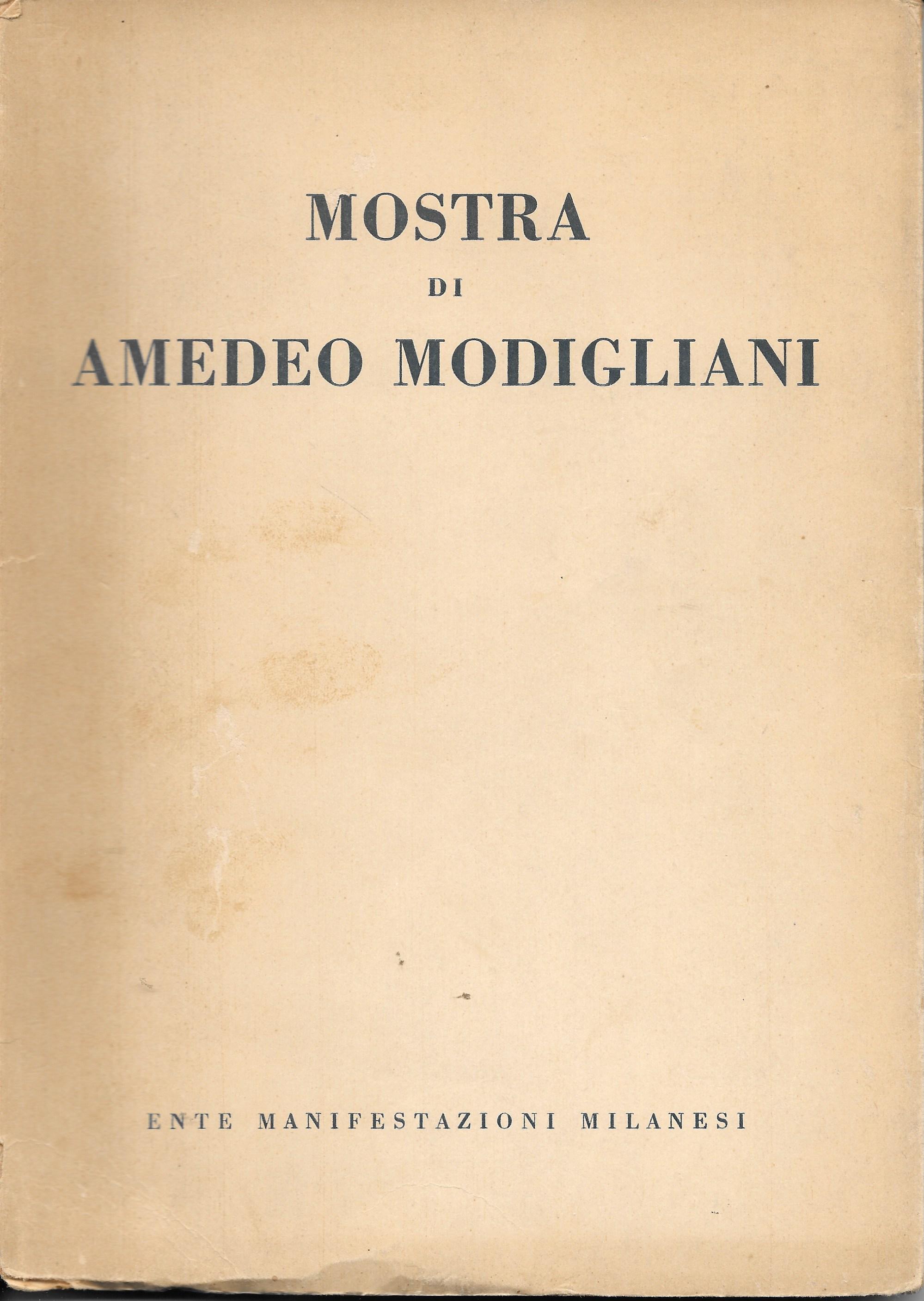 Mostra di Amedeo Modigliani