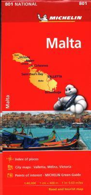 Michelin Malta Map