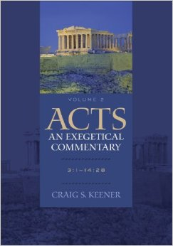 Acts: An Exegetical Commentary, Vol. 2