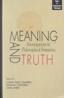 Meaning and truth