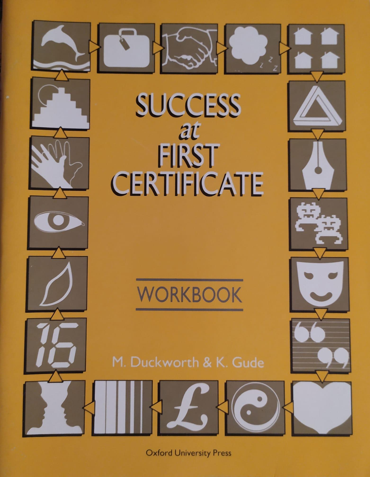 Success at First Certificate: Workbk