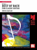 Best of Bach for Classic Guitar