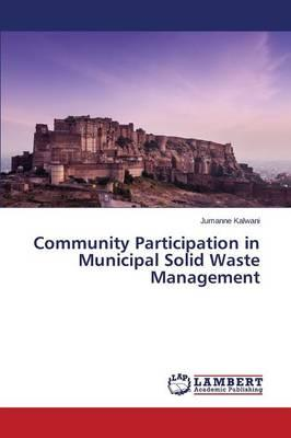 Community Participation in Municipal Solid Waste Management