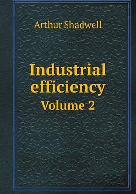 Industrial Efficiency Volume 2