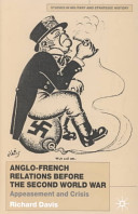 Anglo-French Relations Before the Second World War