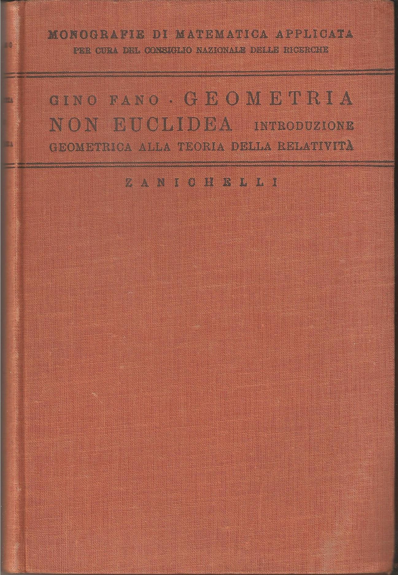 Geometria non euclidea
