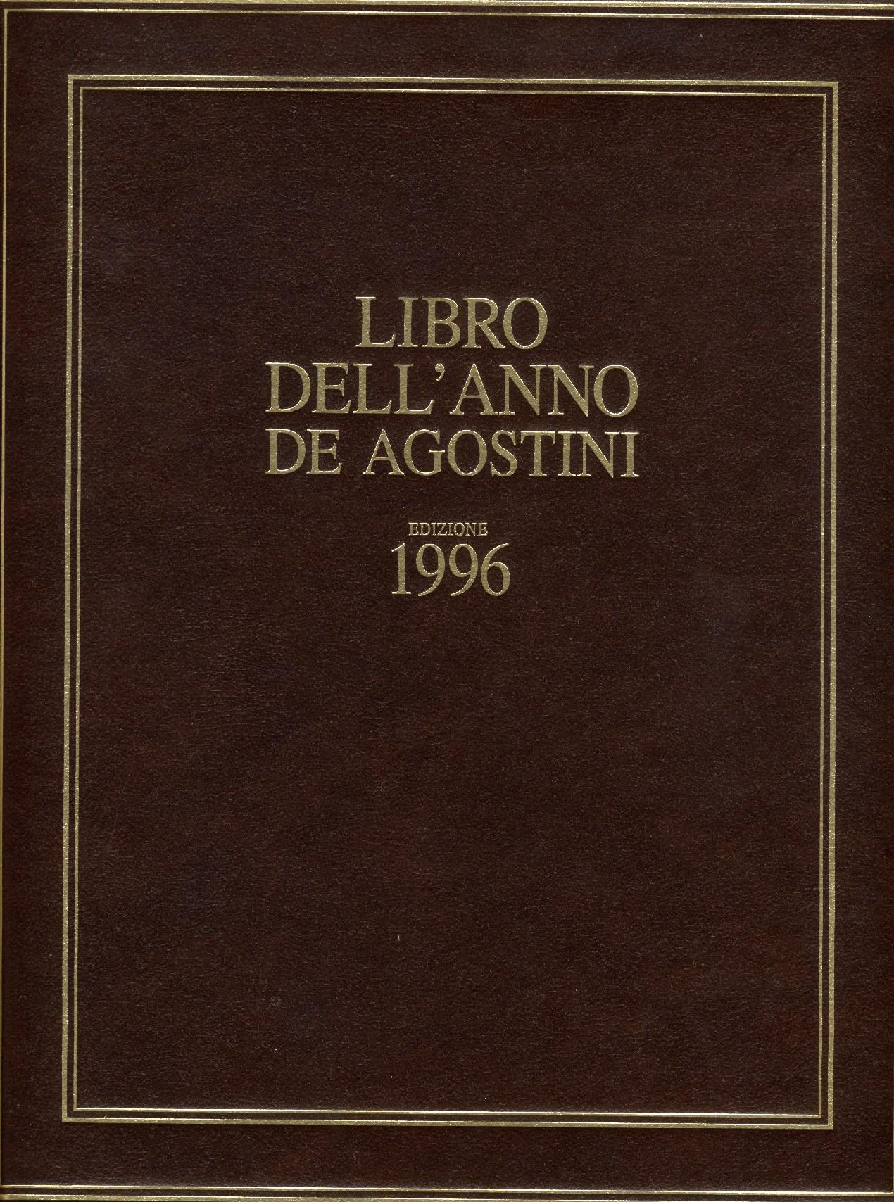 Libro dell'anno De Agostini Edizione 1996
