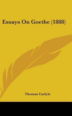 Essays on Goethe (18...