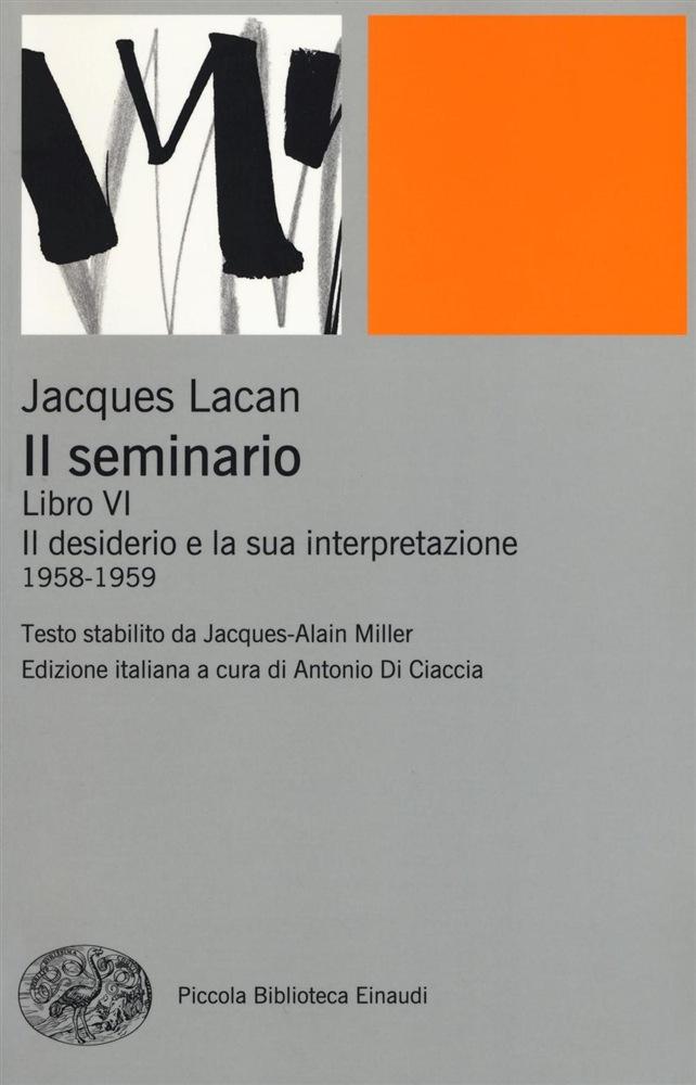 Il seminario. Libro VI