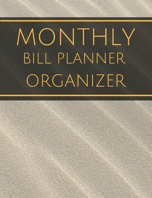 Monthly Bill Planner Organizer