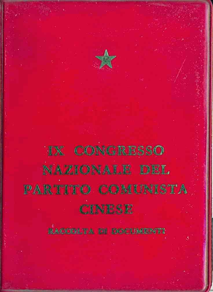 IX Congresso nazionale del Partito comunista cinese