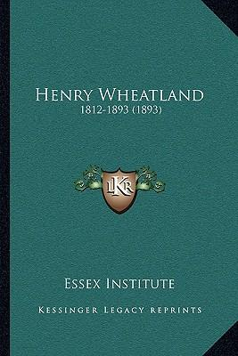 Henry Wheatland