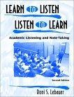 Learn to Listen-Listen to Learn, Second Edition