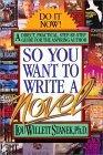 So You Want Write a Novel