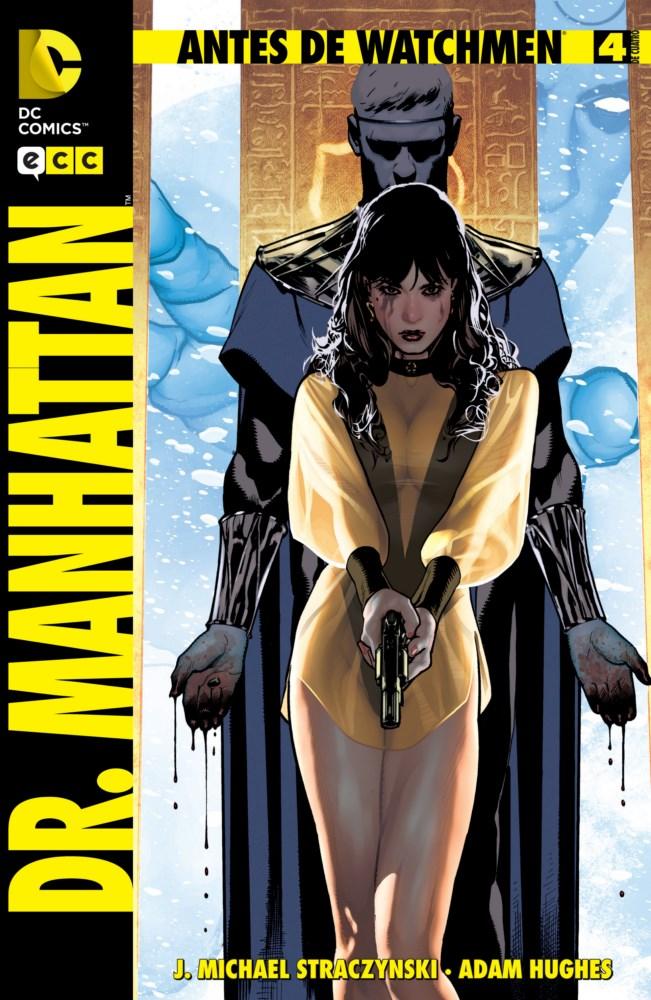 Antes de Watchmen: Dr. Manhattan #4 (de 4)