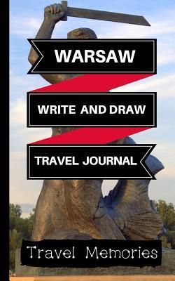 Warsaw Write and Draw Travel Journal