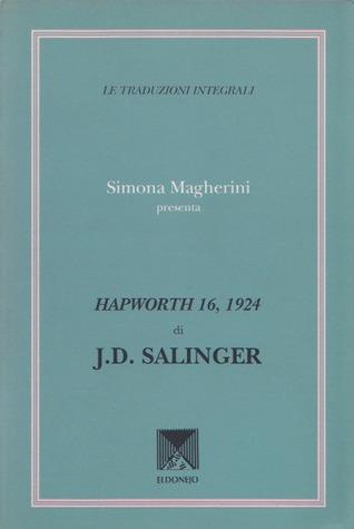 Hapworth 16, 1924