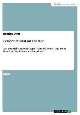 Performativität im Theater