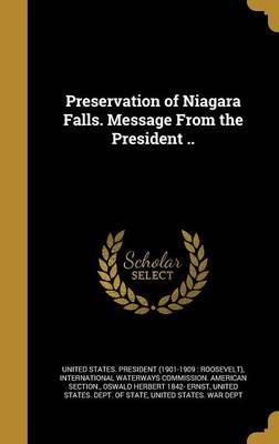 PRESERVATION OF NIAGARA FALLS