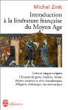 Introduction à la littérature française du Moyen Âge