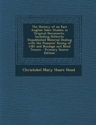 The History of an East Anglian Soke