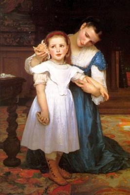The Shell by William-adolphe Bouguereau - 1871 Journal