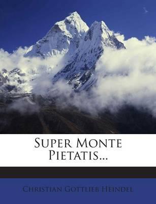 Super Monte Pietatis.
