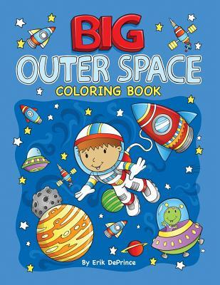 Big Outer Space Coloring Book