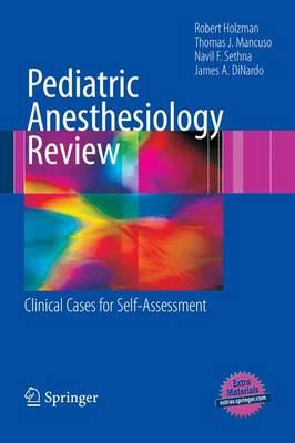 Pediatric Anesthesiology Review