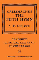 Callimachus: The Fifth Hymn