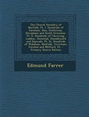 The Church Heraldry of Norfolk