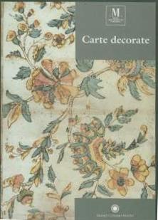 Carte decorate