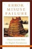 Error, Misuse, Failure