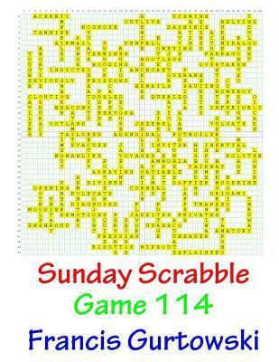 Sunday Scrabble Game 114