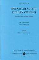 Principles of the Theory of Heat