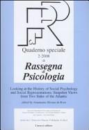 Rassegna di psicologia. Quaderno speciale (2008). Ediz. inglese. Vol. 2